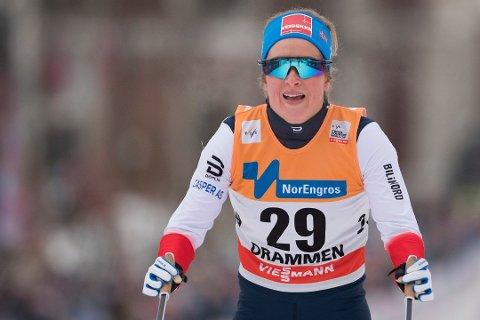 VIDERE: Anna Svendsen er videre fra prologen på verdenscupsprinten på Lillehammer.