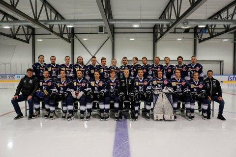JAKTER OPPRYKK: Tromsø Hockeys herrelag vil sikre seriegull og opprykk til 2.-divisjon dersom de klarer ett poeng fra helgens to hjemmekamper mot Kongsberg. Den første lørdag kveld vises direkte på Nordlys.no.