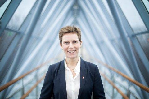 NY JOBB: Grete Kristoffersen er direkter for NAV Troms og Finnmark. Foto: Per-Inge Johnsen/Bodø kommune