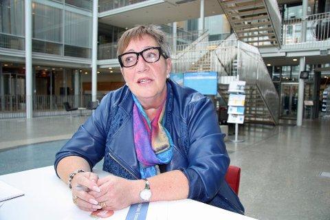 NEDSTEMT: Anni Skogman ble nedstemt da hun foreslo Kjoselvdalen som ny skytebanearena.