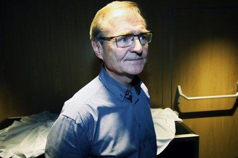 Administrerende direktør i Helse nord, Lars Vorland,
