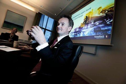 MEKTIGST: Jan Frode Janson, konsernsjef i Sparebanken Nord-Norge, topper flere av listene til Nordlys' maktkåringsjury.