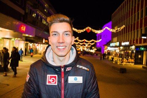 HOPPHELT: Johann Forfang er kåret til årets nordnorske idrettsnavn i Nordlys etter et 2018-sesong som ga både OL-gull, OL-sølv, VM-gull og VM-sølv.