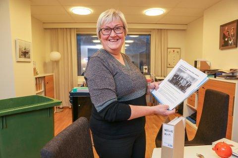 ARBEIDE GRENSELØST: Elisabeth Vik Aspaker er fylkesmann i Troms i noen få dager til. Fra nyttår er hun fylkesmann i Troms og Finnmark. - Vi skal arbeide som om den gamle fylkesgrensen ikke eksisterer. Foto: Yngve Olsen
