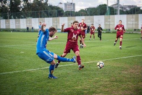 Her blir Slobodan Vuk matchvinner mot Rubin Kazan. Foto: Ivan Ortegon