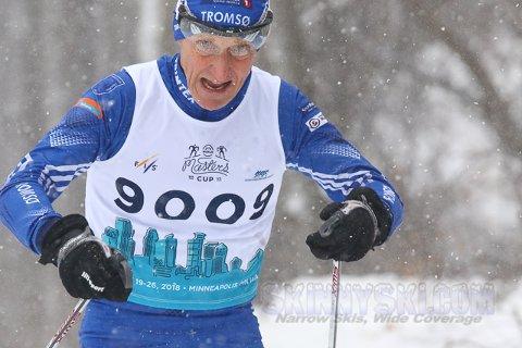 Kjell Johnsen tok flere medaljer i årets veteran-VM i langrenn.