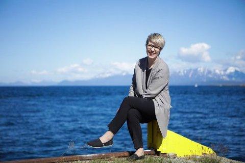 GIR SEG: Maria Utsi har bestemt seg for å gi seg som direktør i Festspillene i Nord-Norge, når åremålet hennes går opp i juli 2019.