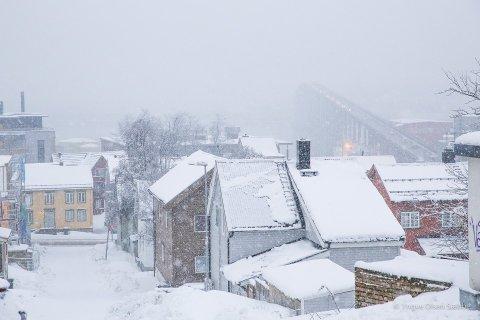 KALDT OG TØRT: Januar var nesten fri for nedbør og februar har startet på samme vis. Men til uka er det meldt endring. I hvert fall for en dag eller to.