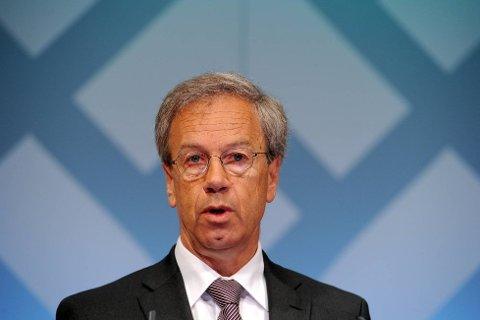 Sentralbanksjef Øystein Olsen varsler renteøkning i årene fremover.