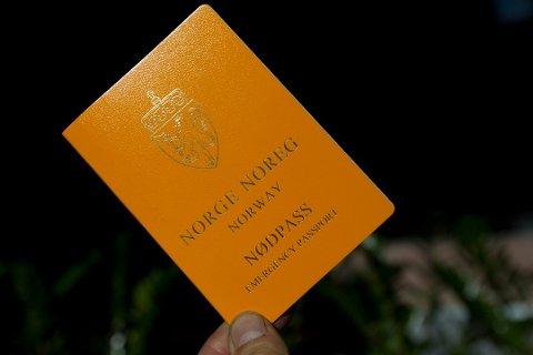 Nødpass koster like mye som et vanlig pass, og gjelder kun for den turen det blir utstedt til.