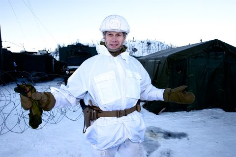 Eldar Berli gir seg etter fire år som brigadesjef. Han håper Stortinget bevilger penger til å opprettholde 2. bataljon som stående kampavdeling. Foto: Ola Solvang