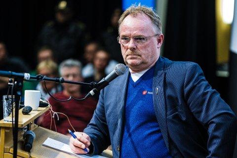STENGES: Sandbergs kommunikasjonssjef forteller at departementet jobber med å få den falske Twitter-kontoen stengt. Foto: Ole Gunnar Onsøien