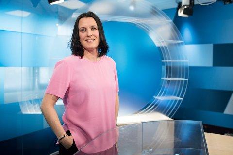 GÅR MOT STREIK: Alle journalistene i NRK går ut i streik tirsdag, dersom det ikke blir enighet. Distriktsredaktør Nina Eimen i NRK Troms kan dermed bli relativt ensom på jobb fremover.