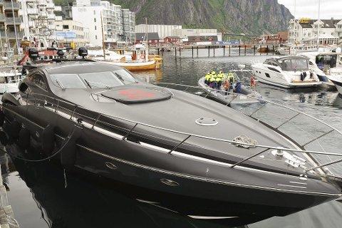 Her er Solhuags båt avbildet i Svolvær. Foto: Lofotposten