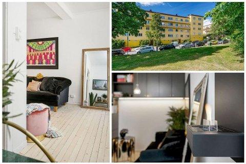 TIL SALGS: Sophie Elise håper å innkassere minst 3.190.000 kroner for leiligheten sin nær Torshovdalen i Oslo. Foto: ZOVENFRA/Carsten Müller