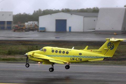 FORHANDLINGER: Flygerforbundet og NHO Luftfart er nå enige om avtale for amubalnseflygere.