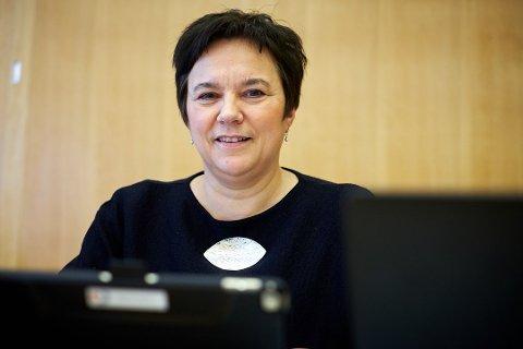 SIER NEI: Finnmark vil ikke oppnevne medlemmer til fellesnemnda. Det ble klart på torsdagens fylkestingsmøte. Her er fylkesordfører Ragnhild Vassvik (Ap).