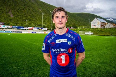 AVGJORDE: Etter å ha vært syk hele uken, kom Vegard Lysvoll inn å avgjorde for TUIL søndag ettermidadg.