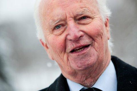 Tidligere utenriksminister og forsvarsminister Thorvald Stoltenberg er død, 87 år  Foto: Lise Åserud / NTB scanpix Foto: Åserud, Lise