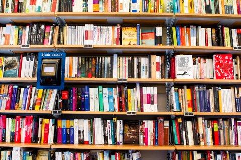 NEDGANG: Salget av bøker i papirformat har gått jevnt ned hver måned siden desember 2016 (arkivfoto).