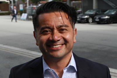 José Benitez Cong jobbet i Apple fra 2001 til 2011. Nå driver han selskapet Plause og snakket på oljemessen ONS om lederskap og innovasjon. Foto: Halvor Ripegutu