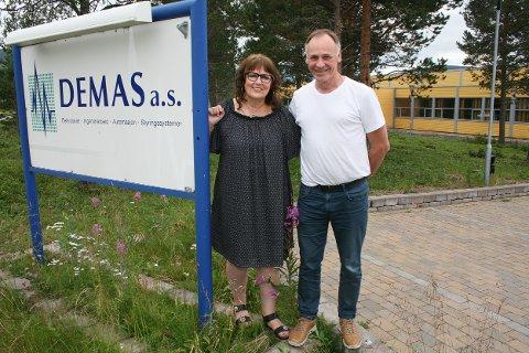 SJEFSPAR: Ann-Brith og Per Konrad Jensen har i snart 30 år styrt en av de største suksessbedriftene i Troms.