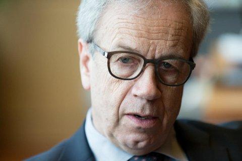 SETTER OPP RENTEN? Øystein Olsen, sentralbanksjef i Norges Bank Foto: Paul Weaver