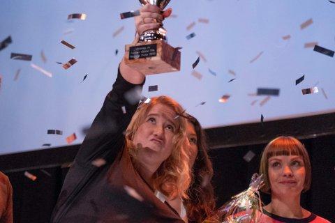 MARIA OLSSON: Fra hun vant delfinalen på Driv.