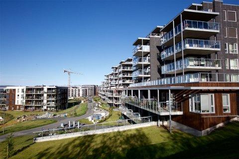 WORKINNTOPPEN: 227 leiligheter kan ha feil med betjeningshøyden på vindushendlene i oppholdsrom. Foto: Ola Solvang