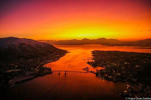 MYE ER GRATIS: To fridager står foran oss, og du kan fylle dem med hva du vil.  To dager hvor alt kan skje. Vi har samlet tips til ting du kan gjøre gratis i Tromsø i helga. Bildet ble tatt i januar for tre år siden.