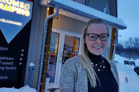 BYGGER NYTT: 21 hytter skal rives. 22 nye kommer opp. Det sier Ida Kristine Jakobsen i Tromsø Lodge and Camping om nye planer i Tromsdalen.