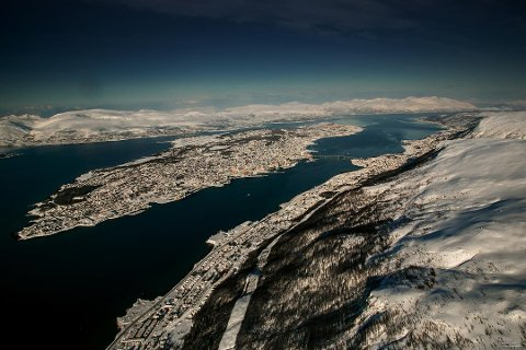 GRAVE OPP HAVBUNNEN: Kystverket planlegger å grave i sjøbunnene flere steder i Tromsø kommune for å gjøre plass til større båter. Det gjelder på strekningene Tromsø-Harstad og Tromsø-Skjervøy.