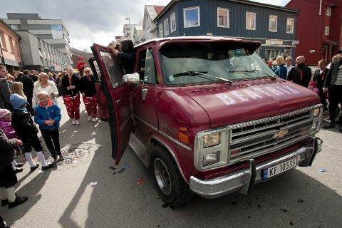 AVLYST: Russetoget i Tromsø. Her fra 2014.