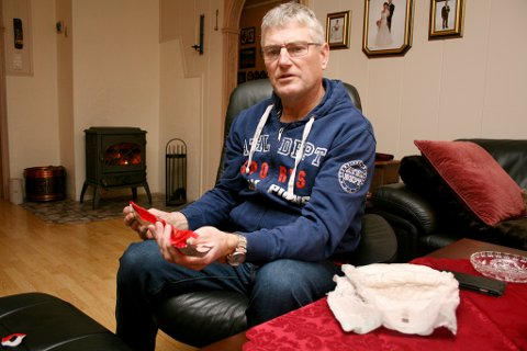 FLAUT: Det gikk mange år før Sveinung Andre Skadal turte å snakke om urinlekkasjen. Nå er han helt åpen om problemet, og håper det kan hjelpe andre som plages med det samme.