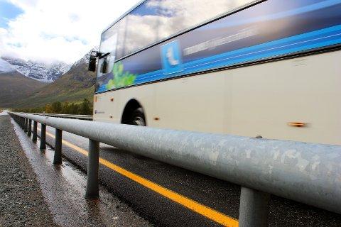 MIDTREKKVERK: Nye Veier AS vil ha flere veistrekninger inn i sin portefølje. E8 Tromsø-Nordkjosbotn er en av dem. Foto: Bengt Nielsen