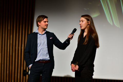 PRISVINNER: Sjakktalentet Edit Machlik ble årets spiller i 2. divisjon for kvinner.