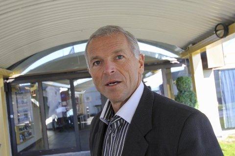 LEDER NY KRETS: Geir Knutsen er valgt som leder av den nye idrettskretsen Troms og Finnmark, etter sammenslåingen ble vedtatt lørdag.