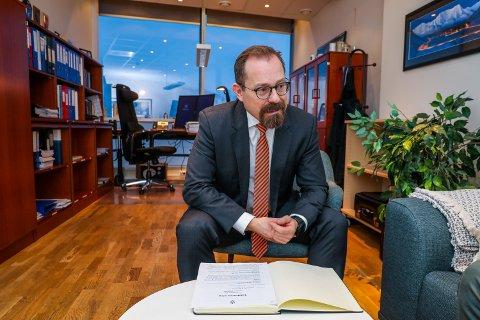 HENLAGT: Statsadvokaten, her ved Tor Børge Nordmo, har besluttet å henlegge voldtektssaken mot en mann i 20-årene.