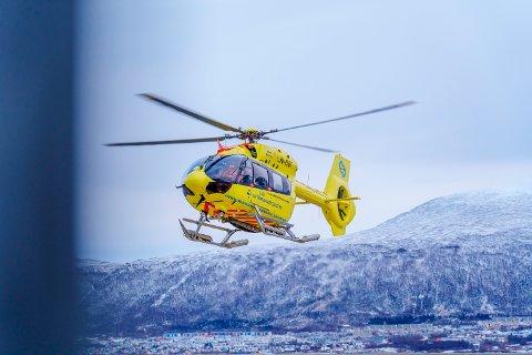 HELI: Ambulansehelikopteret ved UNN skal ikke brukes til å berge sauer.