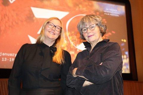 JUBILEUMSÅR: Festivalsjef Lisa Hoen og programsjef Martha Otte presenterte tirsdag formiddag et imponerende program til TIFFs 30-årsdag.