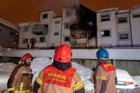 DØMT: Hålogaland lagmannsrett mener brannen i Mellomvegen 18. februar i år lett kunne ha medført tap av menneskeliv.
