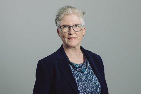 GLEDER SEG: Evy Jørgensen ser fram til å starte i jobben som leder for Miljø - og kartavdelingen i Norsk Polarinstitutt.
