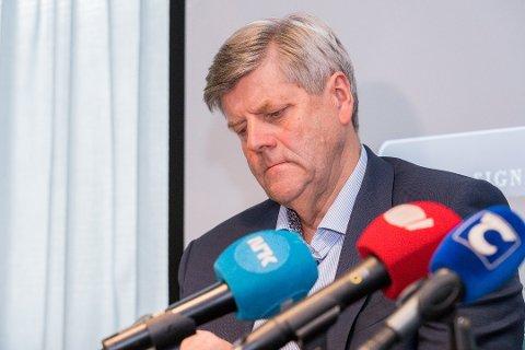 FERDIG: Ansgar Gabrielsen har gitt Helse Nord beskjed om at han gir seg som styreleder på UNN.