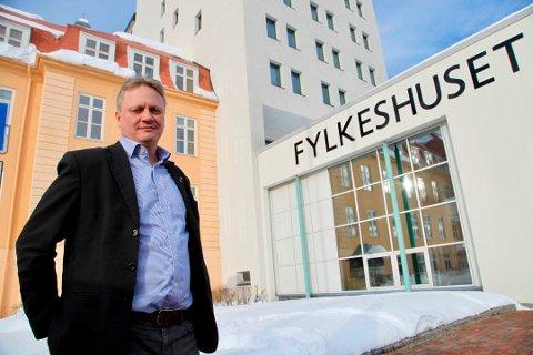 LISTETOPP: Ivar B. Prestbakmo, fylkesråd for samferdsel og miljø i Troms fylkeskommune.