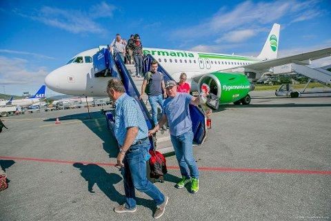 KONKURS: Selskapet har flydd hver sommer til Tromsø. Foto: Torgrim Rath Olsen