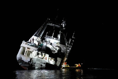 «NORTHGUIDER»: Saken avsluttes fra Sysselmannens side og sendes nå over til Sjøfartsdirektoratet.