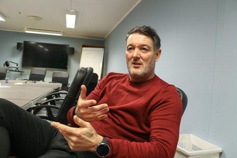 ENGELSK LINK: Jonathan Hill skal ifølge den engelske avisen Telegraph & Argus være aktuell for en trenerjobb i Bradford City. Det avviser Hill overfor Nordlys.