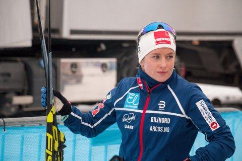 Anna Svendsen gikk inn til bronse på\ tremila i NM.