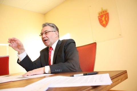 KONGENS MANN: Svein Ludvigsen var fylkesmann i Troms fra 2006 til 2014. Han er tiltalt for seksuelle overgrep mot tre personer, men nekter straffskyld.