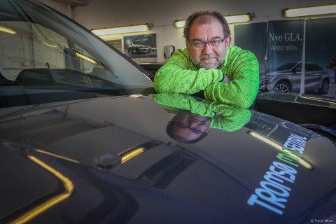 HJELPER TRENGENDE: Geir-Arne Norstrand, daglig leder i Tromsø Matsentral.